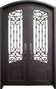 High Quality Customied Wrought Iron Door pictures & photos