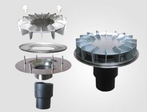 HDPE PE100 Siphon Fittings Rain Strainer for Roof Drainage pictures & photos