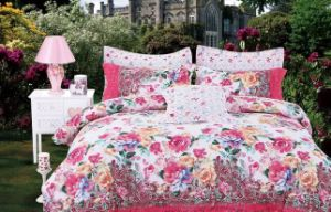 Big Flower 100% Cotton Bed Duvet Cover Sets (T68) pictures & photos