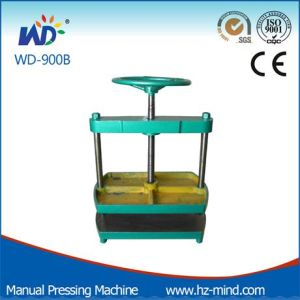 Manual Press Machine Book Pressing Flat Machine (WD-900B) pictures & photos