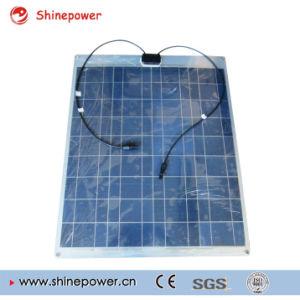 100W Poly Aluminum Semi Flexible Solar Panel with Aluminum Back Sheet pictures & photos