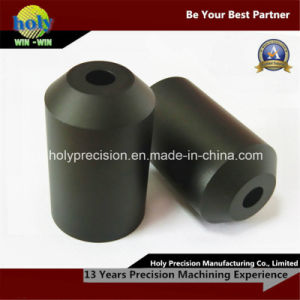 CNC Plastic Machined Parts, CNC Turned Parts for Black Delrin pictures & photos
