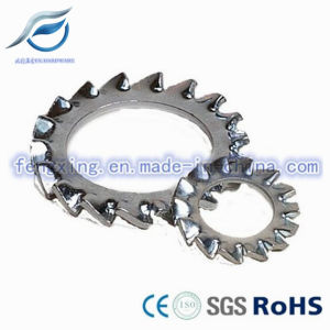 Carbon Steel DIN6797A Serrated Lock Washer pictures & photos