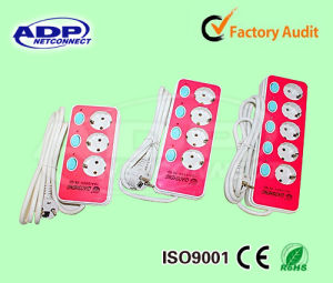 Power Extension Strip, Electrical Socket, European Type pictures & photos