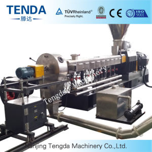 Tsh-65 Compounding Parallel Double Screw Extruder pictures & photos