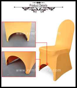 Wedding Banquet Polyester Spandex Stretch Lycra Chair Cover (Xy03) pictures & photos