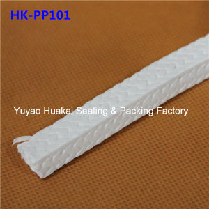 Chemical Resistance 100% Pure PTFE Packing Without Lubricant Additives