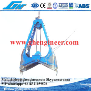 20t Motor Hydraulic Clamshell Dredging Grab pictures & photos