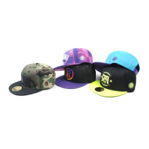 New Design Custom Snapback Hat/Hip Hop Snapback Hat and Cap/Flat Bill Snapback Hats pictures & photos