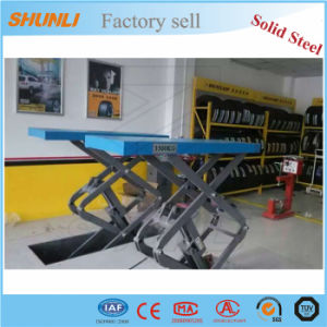 3500kg Manual Mobile Car Lift for Sale pictures & photos