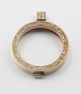 New Arrival Gold Locket for Pendant and Bracelet pictures & photos