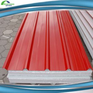 950mm Waterproof Steel EPS Sandwich Panel on Sale pictures & photos