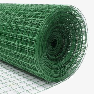 Green PVC Coated Welded Wire Mesh Roll pictures & photos