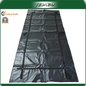 High Quality Thick PVC Durable Handle Funeral Body Bag pictures & photos