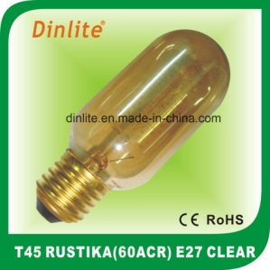 T45-60(ACR) 40W 60W Clear Rustika bulb pictures & photos