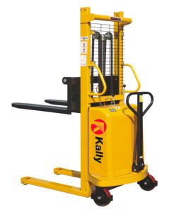 Semi Electric Stacker of Lifting Height 1.6m to 3.5m pictures & photos