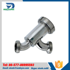 Stainless Steel Sanitary Bend Type Filter pictures & photos