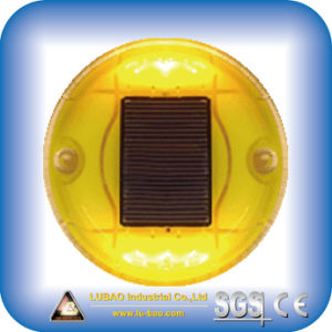 Solar Round Shape Plastic Road Stud