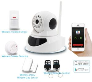 WiFi Video Camera and Alarm System in One Device with Alarm Accessories pictures & photos
