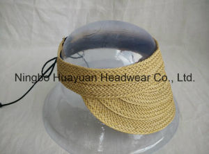 PU Braid Sewn Braid Visors pictures & photos