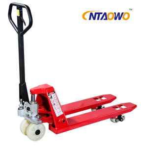 2/2.5/3/5ton New Reel Carrier Truck/Reel Hand Pallet Truck pictures & photos