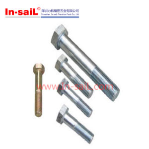DIN601 ISO4016 Hexagon Head Bolts Anodized pictures & photos