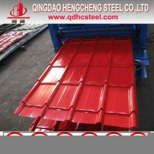Zinc Coated Colorful Steel Roofing Sheet pictures & photos