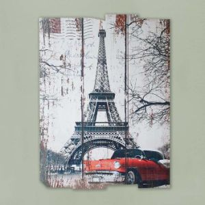 Cheap Customized Hand Painted Wood Canvas Wall Art Painting pictures & photos