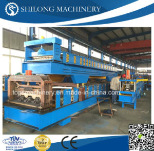 CE Approved Metal Steel Floor Decking Panel Roll Forming Machine pictures & photos