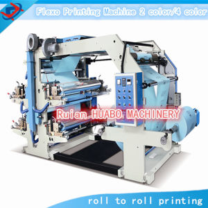 Four Color Flexo Printing Machine pictures & photos