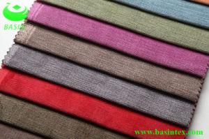 Two-Color Woven Fleece Sofa Fabric (BS4016) pictures & photos
