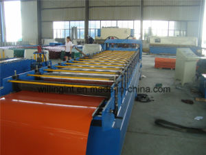 Wave Glazed Steel Tile Roll Forming Metal Forging Machinery pictures & photos