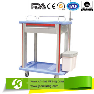 Skr011 ABS Moving Nursing Trolley 2016 Economic Style pictures & photos