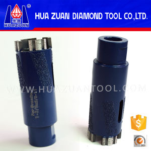 "35mm (1-3/8""X5/8-11"") Vacuum Brazed Diamond Core Bits Drill Stone pictures & photos"