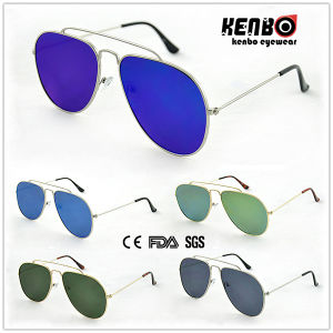 New Coming Fashion Sunglasses with Flat Lens for Man, CE FDA Km15161 pictures & photos