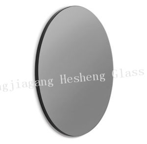 10mm Round Black Toughened Glass as Round Table