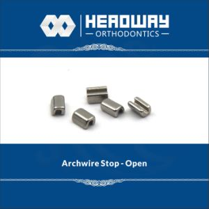 Orthodontic Accessory Archwire Stop with Open/Seal pictures & photos