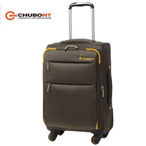 China Chubont Spinner Buit-in Trolley System Luggage pictures & photos