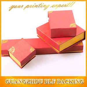 Custom Red Paper Box Gift Card Packaging (BLF-GB540) pictures & photos