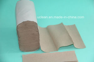 250sheets Mutifold Hand Paper Towel, Recycled Brown pictures & photos