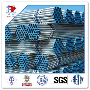 "A53 Gr. B 2"" PE End Schedule 80 Galvanized Steel Pipe pictures & photos"