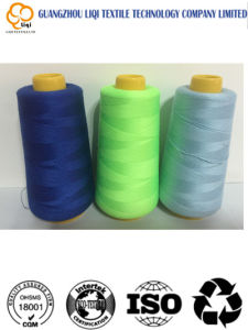Fabric Thread 50s/3 100% Spun Polyester Sewing Thread for T-Shirt pictures & photos