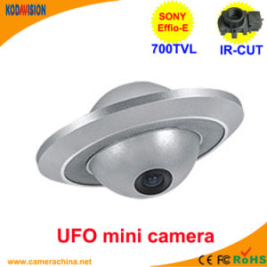 Sony CCD 700tvl Miniature UFO Security CCTV Camera pictures & photos
