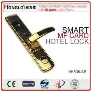 RFID Card Swipe Access Hotel Door Lock (HK805) pictures & photos