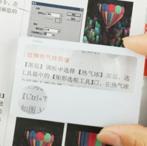 Credit Card Size Magnifying Lens for Logo Printing (HW-802A) pictures & photos