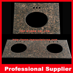 Baltic Brown Botic Brown Granite Vanity Top for Bathroom or Hotel Project pictures & photos