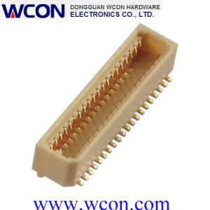 0.8mm Board to Board Connector SMT Socket with 4.7 to 17.8mm Stacking Height and 0.8mm Contact Spacing pictures & photos