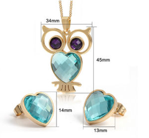 Stainless Steel Jewelry Set Fashion Jewelry Accessories (hdx1084) pictures & photos
