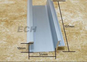 Aluminum Profile for Closet Door Wardrobe Door (L379)