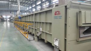Gas Open Fired Steel Wire Austenitization Furnace pictures & photos